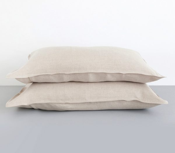 Pillowcases 100%Linen Natural